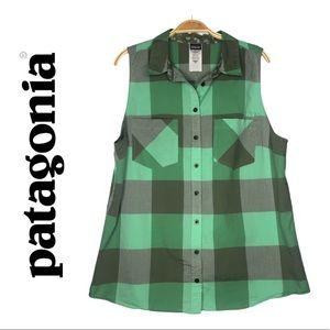 Patagonia Organic Cotton Sleeveless Women Shirt